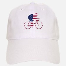 U.S.A. Cycling Baseball Baseball Cap