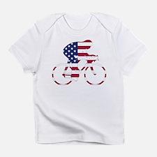 U.S.A. Cycling Infant T-Shirt