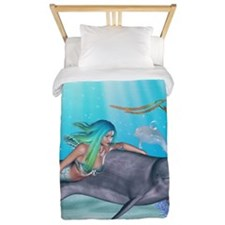 The Mermaid Twin Duvet