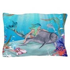 The Mermaid Pillow Case