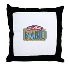The Amazing Mario Throw Pillow