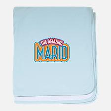 The Amazing Mario baby blanket
