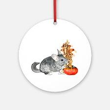 Chinchilla Harvest Ornament (Round)