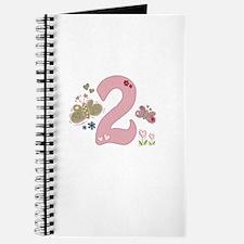 """Butterfly Birthday: 2"" Journal"