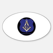 Police Freemason Decal