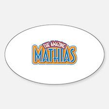 The Amazing Mathias Decal