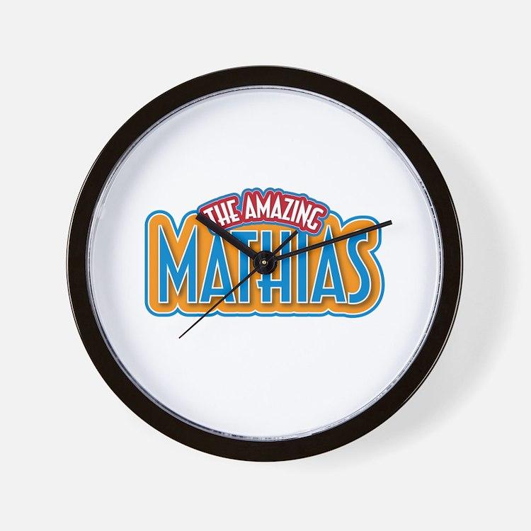 The Amazing Mathias Wall Clock