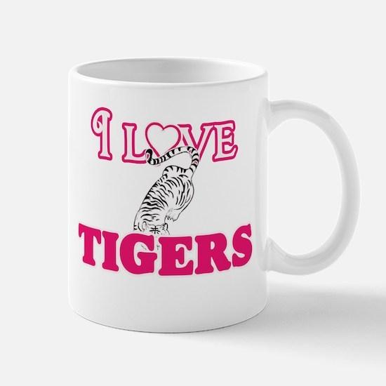 I Love Tigers Mugs