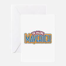 The Amazing Maverick Greeting Card