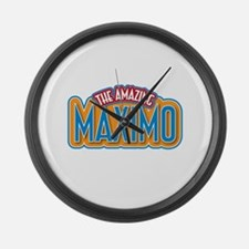 The Amazing Maximo Large Wall Clock