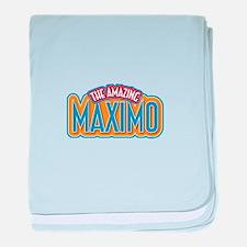 The Amazing Maximo baby blanket