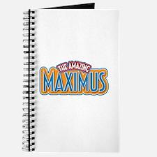 The Amazing Maximus Journal