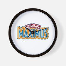 The Amazing Maximus Wall Clock