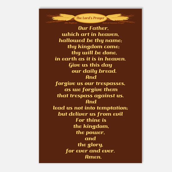 The Lords Prayer Wheat Postcards (Package of 8)
