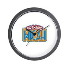 The Amazing Micah Wall Clock