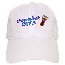 Doumbek Diva Baseball Cap