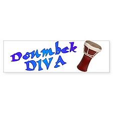 Doumbek Diva Bumper Stickers