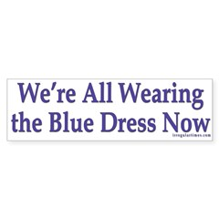 We're all Wearing the Blue Dress Now (st