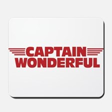 Captain Wonderful Father's Day Mousepad