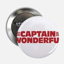 """Captain Wonderful Father's Day 2.25"""" Button"""