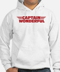 Captain Wonderful Father's Day Hoodie