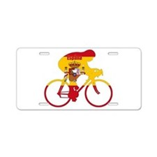 Spanish Cycling Aluminum License Plate