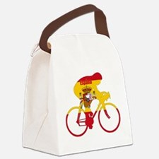 Spanish Cycling Canvas Lunch Bag