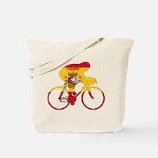Spanish Cycling Tote Bag