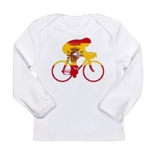 Spanish Cycling Long Sleeve Infant T-Shirt