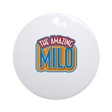The Amazing Milo Ornament (Round)