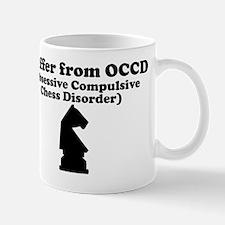 Obsessive Compulsive Chess Disorder Mug