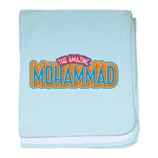 The Amazing Mohammad baby blanket