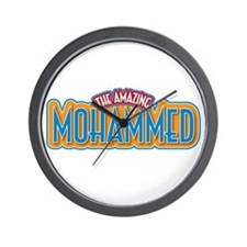 The Amazing Mohammed Wall Clock