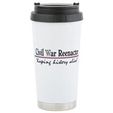 Civil War Reenactor Travel Mug