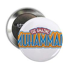 "The Amazing Muhammad 2.25"" Button"