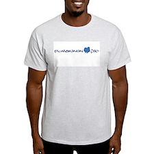 Pomeranian Dad Ash Grey T-Shirt