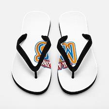 The Amazing Myles Flip Flops