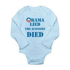 Obama Lied The Economy Died Body Suit