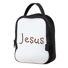 Jesus Coffee Beans Neoprene Lunch Bag