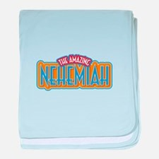 The Amazing Nehemiah baby blanket