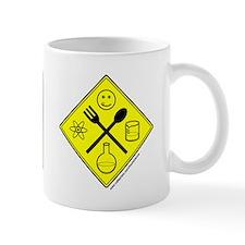 """Warning Food Scientist..."" Small Mug"