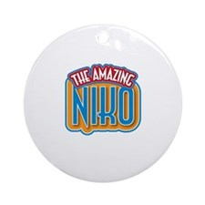 The Amazing Niko Ornament (Round)