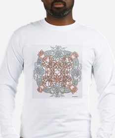 Celtic Art Work Long Sleeve T-Shirt