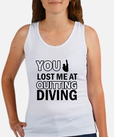 Hardcore Diving designs Women's Tank Top
