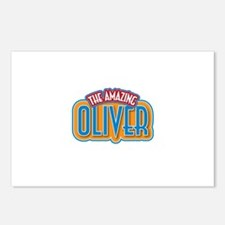 The Amazing Oliver Postcards (Package of 8)