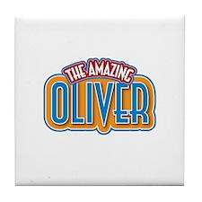 The Amazing Oliver Tile Coaster