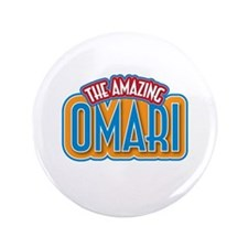 "The Amazing Omari 3.5"" Button (100 pack)"
