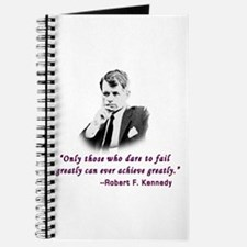 Bobby Kennedy Inspiring Quote Journal