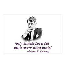 Bobby Kennedy Inspiring Quote Postcards (Package o