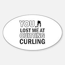Hardcore Curling designs Decal